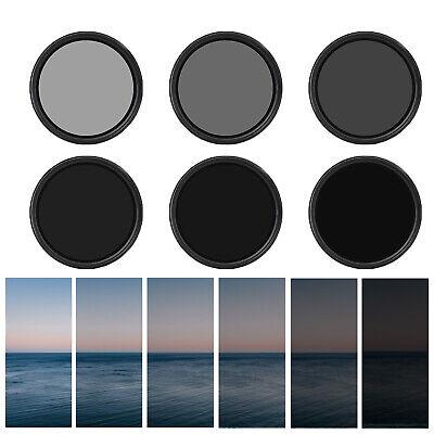 1x Variabler ND Filter Graufilter 67mm ND2 bis ND400 stufenlos einstellbar