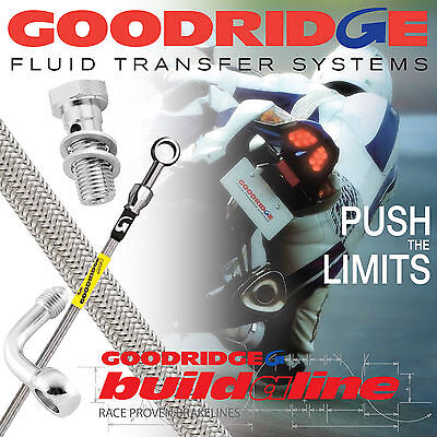 XS500C 1976 GOODRIDGE BUILD A LINE REAR BRAKE LINE