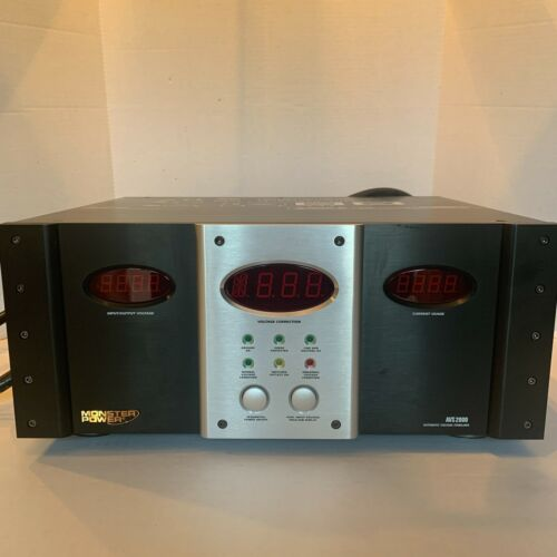 Monster Power AVS 2000-Home Theater Voltage Stabilizer