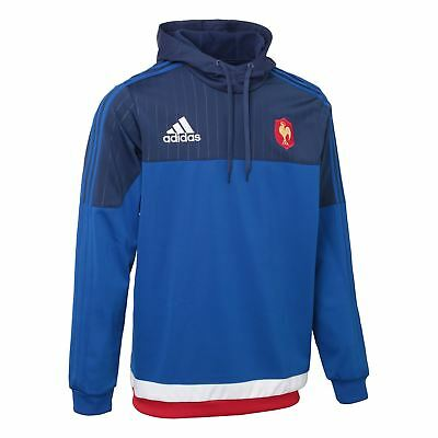 adidas French Fed Rugby Hooded Sweat S07527~Mens~Hoodies~S & M ONLY