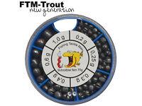 FTM Omura Tungsten Perlen Rundes Loch 3,8mm Chartreuse 5800123 Ultra Light