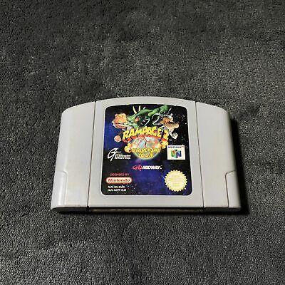 Nintendo 64 Rampage 2 - Universal Tour EUR Très Bon état