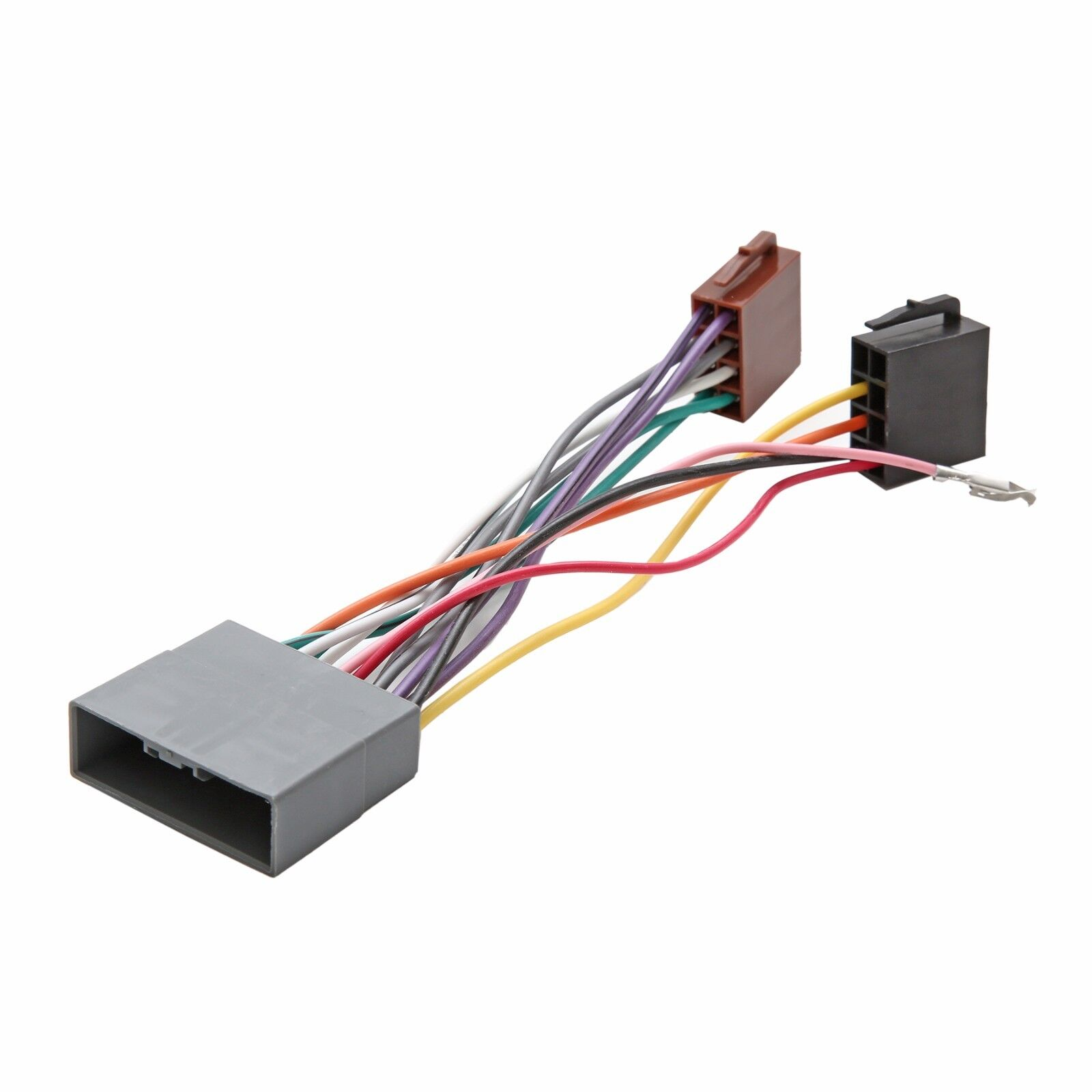 details about iso wiring harness connector adaptor stereo radio lead for  mitsubishi shogun