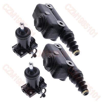 2 Brake Master Slave Cylinder Kit A51976 L25419 For Case 430 480b 480c 580c