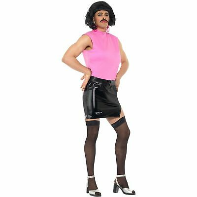 Queen Freddie Mercury Break Free Tarty Housewife Mens Fancy Dress Costume](Freddy Mercury Costumes)