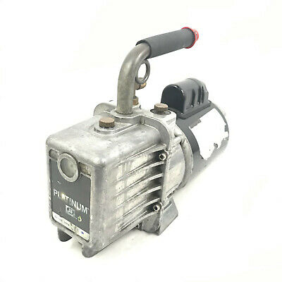 Jb Industries Marathon Electric Platinum Dv-142n 5 Cfm Vacuum Pump 2 Stage .5 Hp