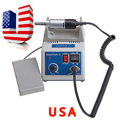 Dental Lab Marathon Micromotor Polishing Polisher N3 Electric Motor 35k Rpm Us