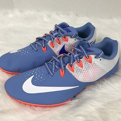 online store 6fe83 92a8b NEW NIKE Zoom Rival S Track Field Spike Sprint Running Shoes 806558-414  Women 11