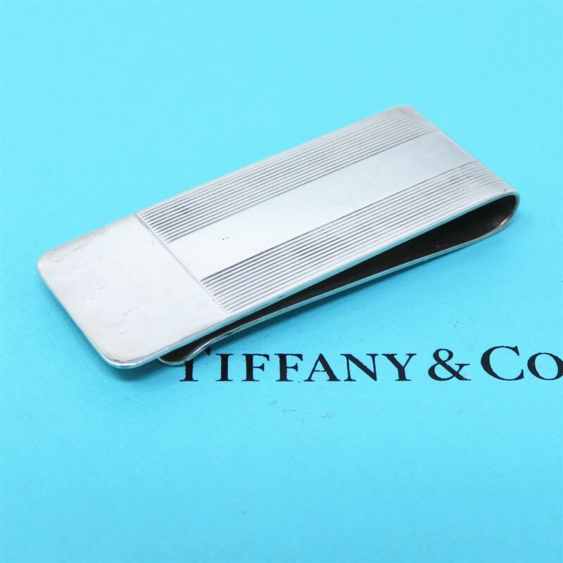 NYJEWEL Tiffany & Co 925 Sterling Silver Money Clip