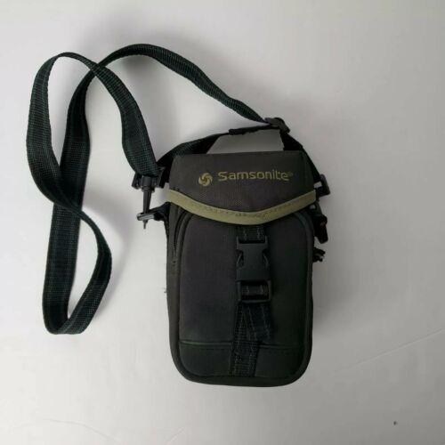 Samsonite Case Universal Digital Camera Compact Case Bag Black Pouch With Strap  - $10.99