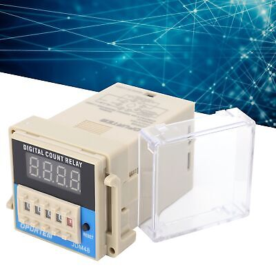 Timer Relay Delay Switch Module Power Off And Trigger Delay Cycle Timing W Lcd