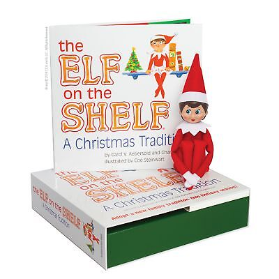 Elf on the Shelf Blue Eyed Girl Scout Elf : A Christmas Tradition - New in Box (Scout Elf)