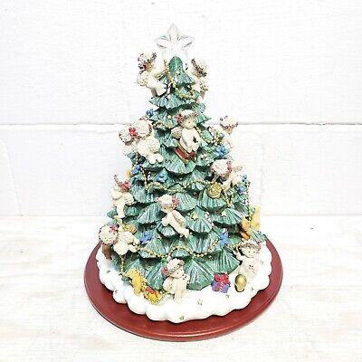 Danbury Mint The Dreamsicles Christmas Tree 2001 Angels Lights Up EUC
