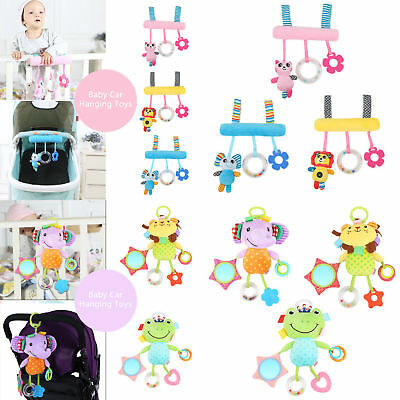 Infant Rattle Toys Stroller Car Seat Crib Travel 6 Sorts Han
