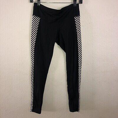 Athleta Small Tight Leggings Black Running Workout Yoga Pants