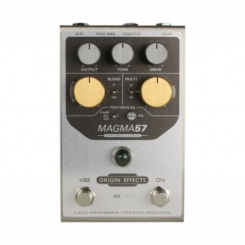 Origin Effects MAGMA57 Amp Vibrato and Drive Pedal
