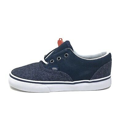 Vans Era Suede Suiting Dress Blues Navy Toddler 10 Sneakers Shoes New Blue
