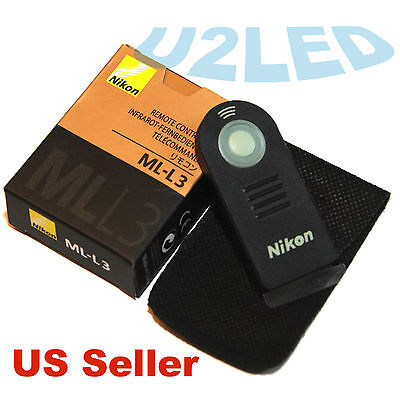 Nikon ML-L3 MLL3 Wireless Remote Control D750 D5000 D3400 D80 D7100 Coolpix A V2