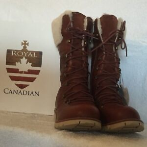 Royal Canadian boots - Cognac