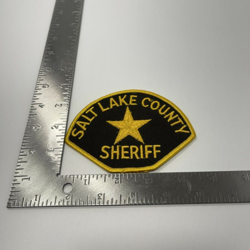 SALT LAKE COUNTY SHERIFF Utah UT Co SD Patch