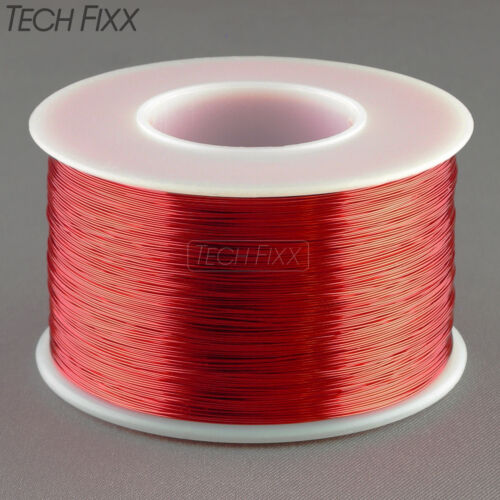 Magnet Wire 33 Gauge AWG Enameled Copper 3100 Feet Coil Winding 155C Essex Red