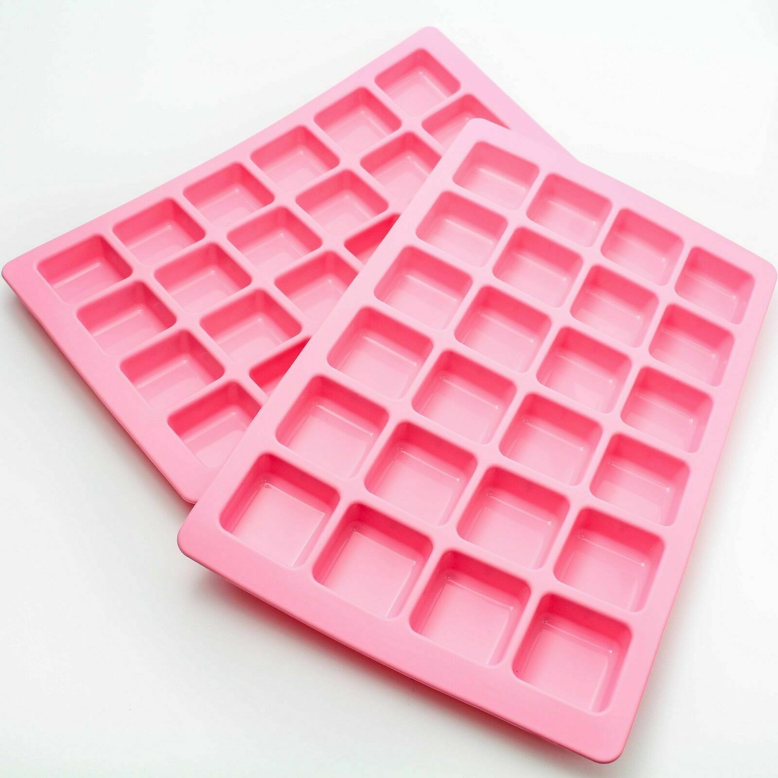 Silikon Backform für 24 Minikuchen / Minitörtchen Muffinform Eis Kuchen Backen