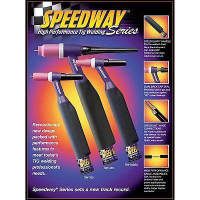 Weldtec 12ft Speedway Deluxe Torch Package Sw-320-12dx