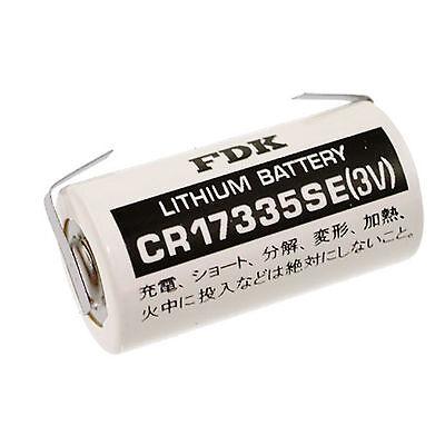 1 Stück 2/3 A mit U-Lötfahne  * FDK / SANYO * BATTERIE - CR17335-LFU - 3 Volt
