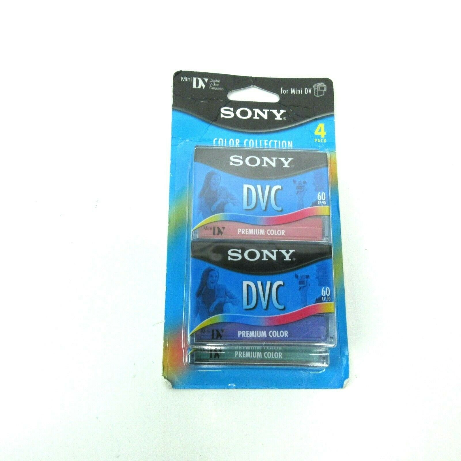Sony 4 Pack DVC Digital Video Cassettes Mini DV Tapes 60 Minutes New - $16.99