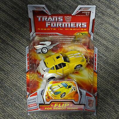 2006 Hasbro Transformers Robots In Disguise Classic Deluxe Bumblebee
