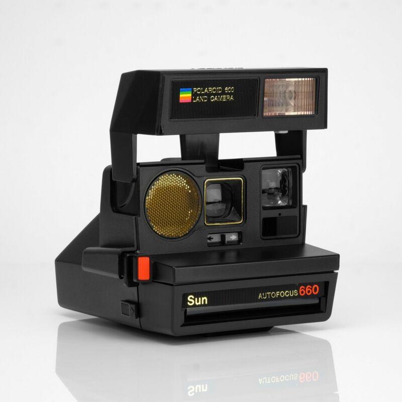 Polaroid Sun 660 Autofocus 600 Camera