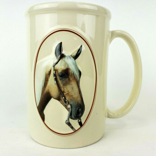 Equine Expressions Coffee Mug Horse 3D Sculpted Lord Herbert Quote