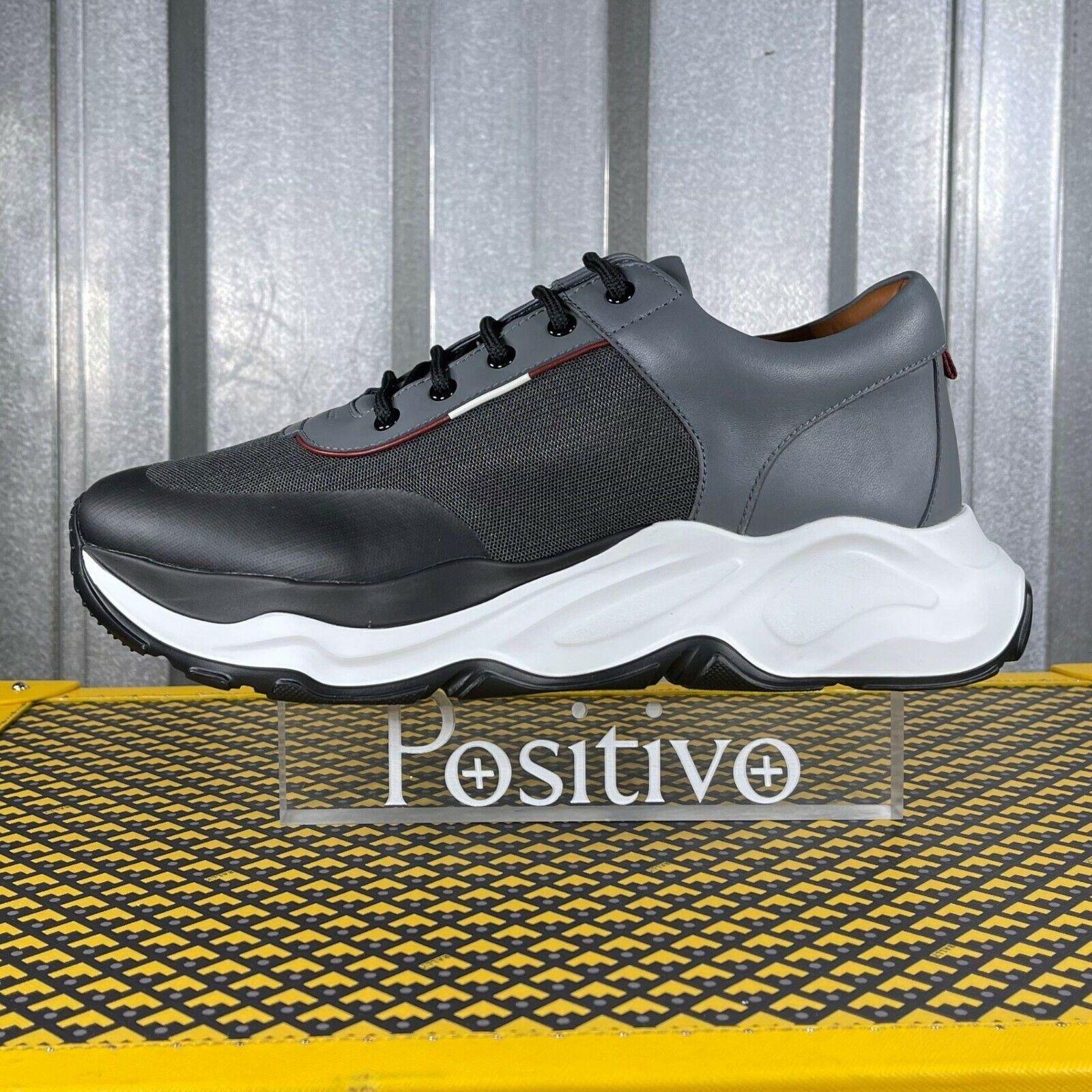 Bally Mens Brander Garconne Polyester Sneakers US 8 New