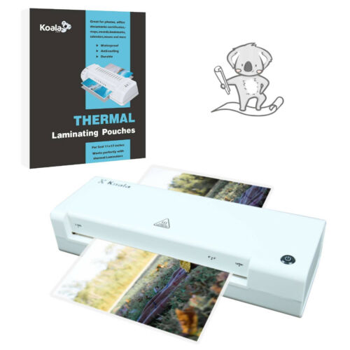 5 in 1 A3 Hot Laminator Machine + 90 Laminating Pouch Sheets seal 11x17 4x6 5x7
