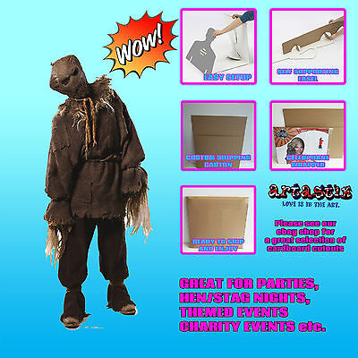 BBC Dr Who Scary Scarecrow Official LIFESIZE CARDBOARD CUTOUT HALLOWEEN