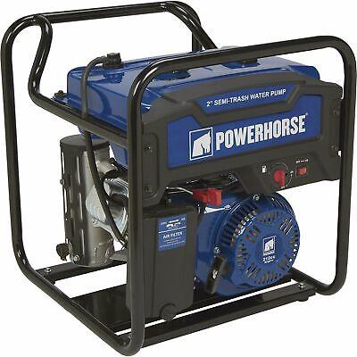 Powerhorse Extended Run Semi-trash Water Pump- 2in Ports 7860 Gph