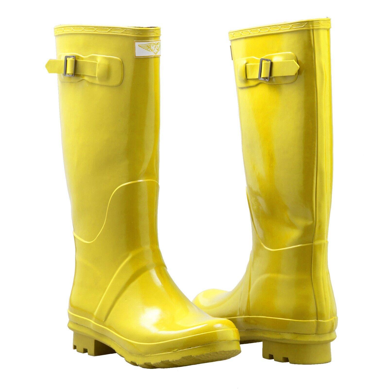 Womens Yellow Rain Boots 8mLSZR0L