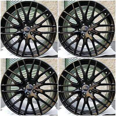"20"" Audi TT RS S3 A3 OEM Factory Wheels Black Rims Tires 8S0601025S $2195-OBO"