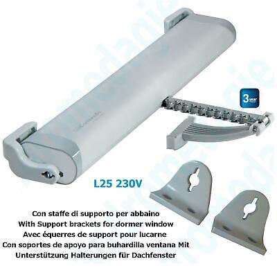 LIWIN 250N 230V GRIS + SOPORTES PARA CLARABOJOS Claraboyas