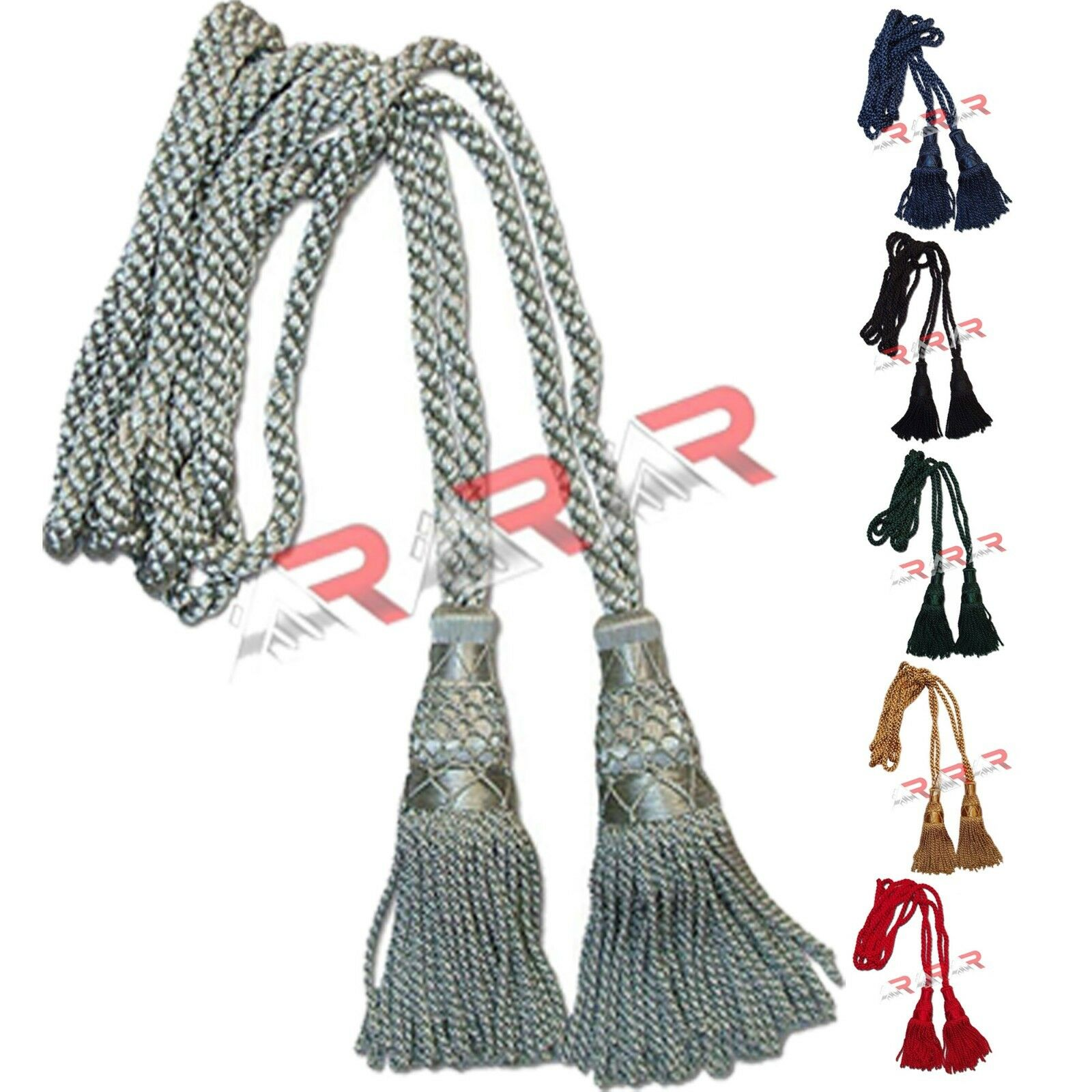 Musical Instruments & Gear Wind & Woodwind Pipe Cords For Drones Of Bagpipes Silk Silver Pipe Cords High Quality