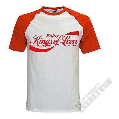 Kings of Leon T-shirts Kings of Leon Baseball T-shirt