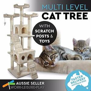 Cat Tree Scratching Post Scratcher Pole Gym Toy House Furniture Perth Perth City Area Preview