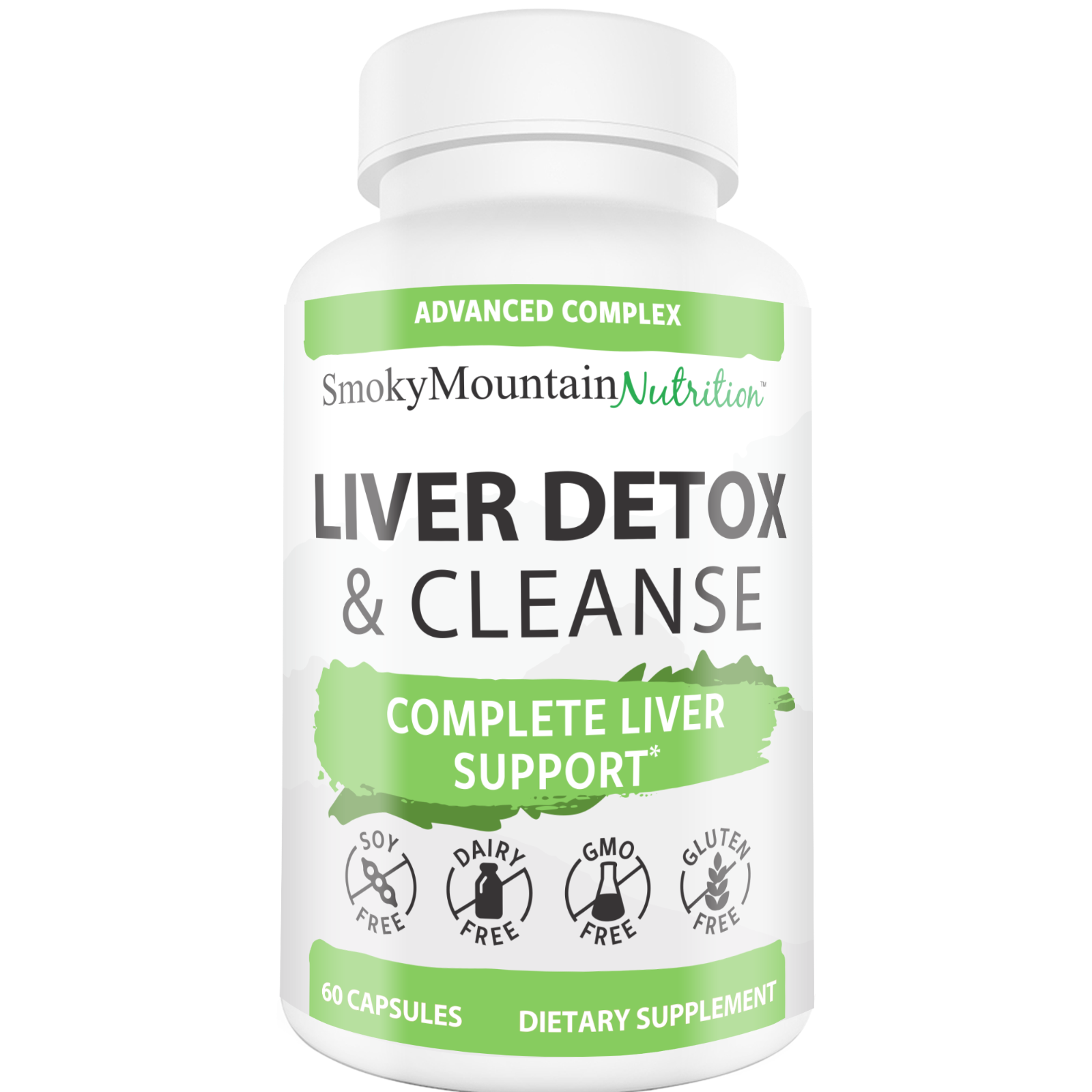 Liver Cleanse Detox & Repair* Formula  22 Herbs Support Supp