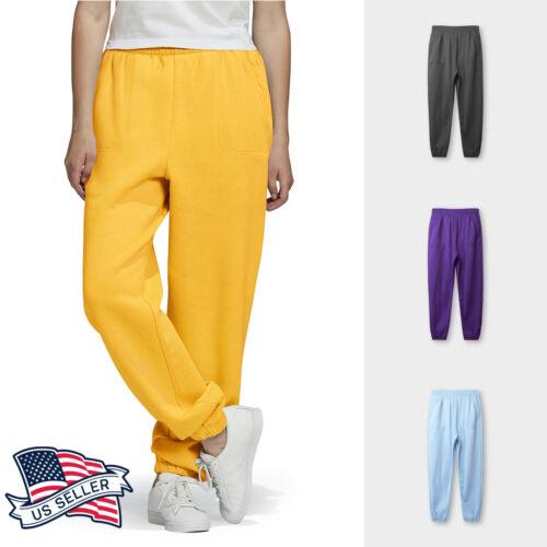 Mens Sweatpants Casual Fleece Joggers Gym Pants Workout Yoga Solid Plain