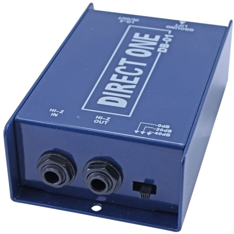 NEW DB-01 Passive XLR to 1/4 Direct di Box with ground lift for guitar keyboard