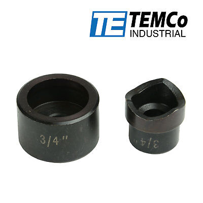 Temco 34 Conduit Punch And Die For Hydraulic Knock Out Driver