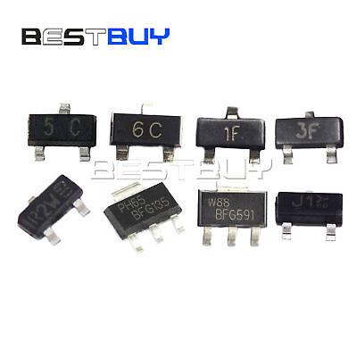 Transistor Bc807-40 Bc817-40 Bss138 Bc847 Bfr93a Sot23 Bfg135 Bfg591 Sot223 Bbc