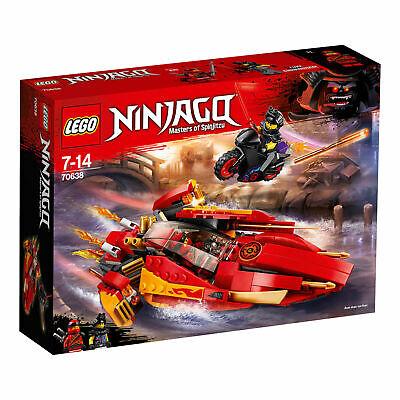 LEGO 70638 KATANA V11 MASTERS OF SPINJITZU BRAND NEW SEALED NINJAGO SET