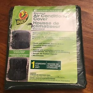 Air-conditioner cover for square or round units $8 each