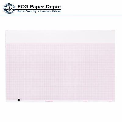 Ecg Ekg Thermal Recording Paper Welch Allyn Tycos 94018-0000 10 Pack Per Case